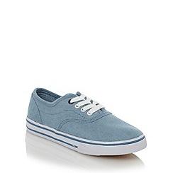 bluezoo - Boy's blue chambray shoes
