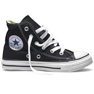 Converse boy's black 'All Star' hi-top trainers