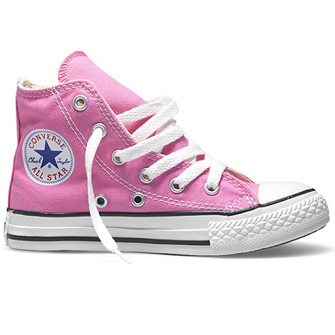 Converse - Pink High Top Trainers