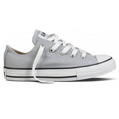 Converse - Boy+s Grey +Ox+ Trainers