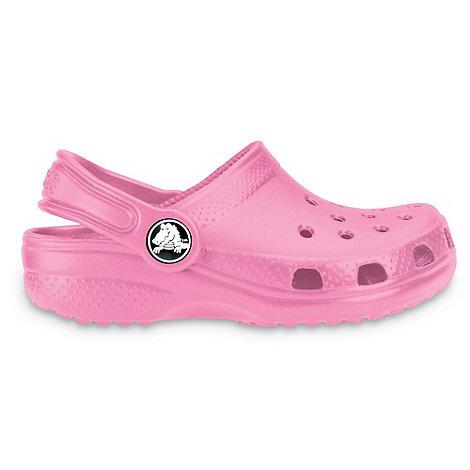 Crocs - Girl+s pink classic clog