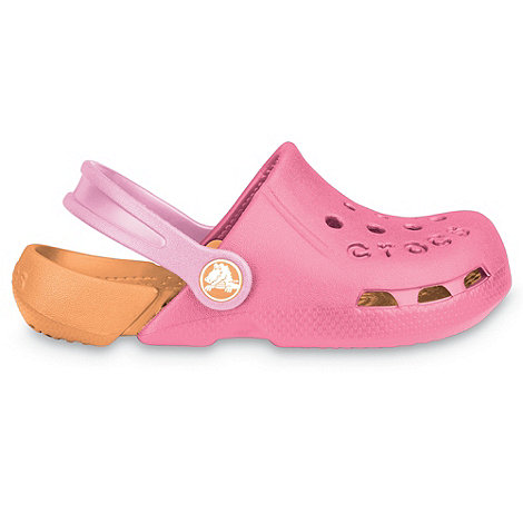 Crocs - Girl's pink 'Electro' clogs