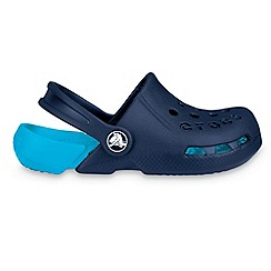 Crocs - Boy's blue 'Electro' clogs