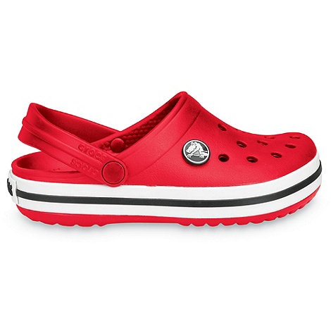 Crocs - Boy+s red +Crocband+ clogs