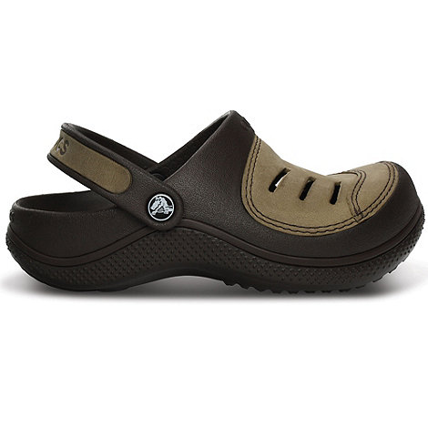 Crocs - Boy+s black +Yukon+ clogs