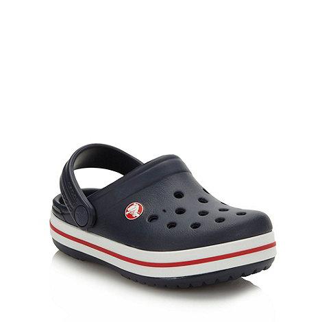 Crocs - Boy+s navy essential clogs