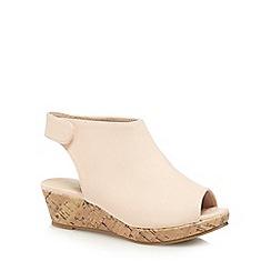 bluezoo - Girls' light pink wedge heel shoe boots