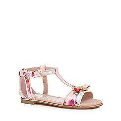 Baker by Ted Baker - Girls' pink 'Exotic orchid' sandals