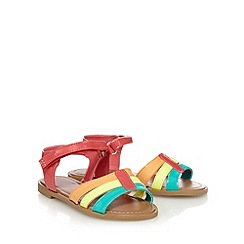 bluezoo - Girls' multi-coloured patent sandals