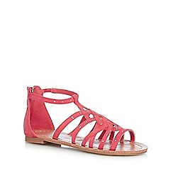 bluezoo - Girls' pink diamante embellished sandals
