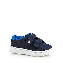 Baker by Ted Baker - Boys' navy riptape tennis trainers