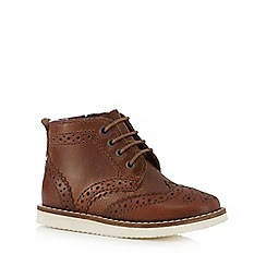 Baker by Ted Baker - Boys' brown brogue boots