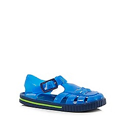 bluezoo - Boys' blue shark jelly sandals
