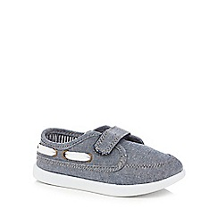 bluezoo - Boys' blue boat shoes