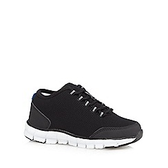bluezoo - Boys' black mesh trainers