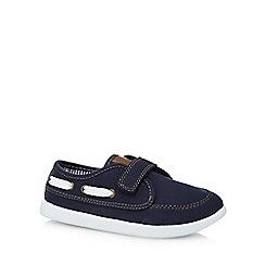 bluezoo - Boys' navy boat shoes