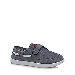 bluezoo - Boys' blue denim shoes