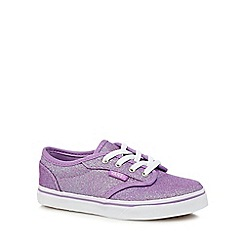 Vans - Girls' purple 'Atwood' glitter trainers