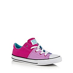 Converse - Girls' purple 'Madison' trainers