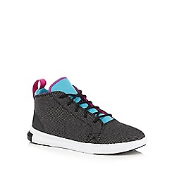Converse - Girls' black 'Easy Ride' canvas trainers