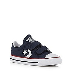 Converse - Boys' blue 'All Star' converse trainers