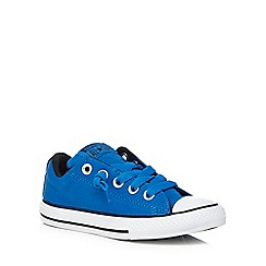 Converse - Boys' blue 'Street' trainers