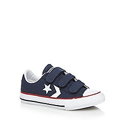Converse - Boys' navy 'All Star' trainers