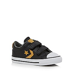 Converse - Boys' black 'All Star' trainers