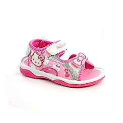 Hello Kitty - Girl's pink sandals