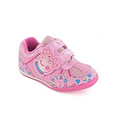 Peppa Pig - Girls pink trainers