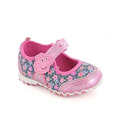 Peppa Pig - Girls pink ballet trainers
