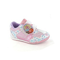 Disney Frozen - Girls pink trainers