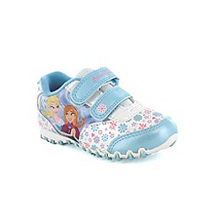 Disney Frozen - Girls blue trainers
