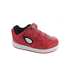 Spider-man - Boys red trainers