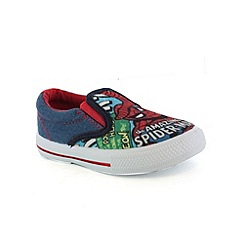 Spider-man - Boys multi canvas shoes