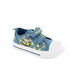 Despicable Me - Boys blue canvas shoes