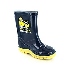 Despicable Me - Boys blue wellies