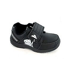 Despicable Me - Boys black school shoes
