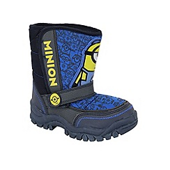 Despicable Me - Boys' navy boots