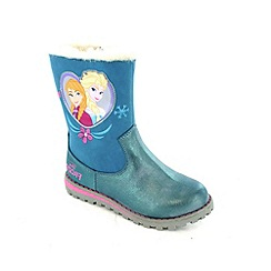 Disney Frozen - Girls' blue boots