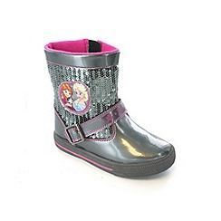 Disney Frozen - Girls' silver boots
