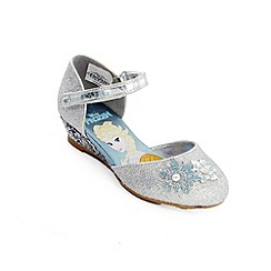 Disney Frozen - Girls' silver shoes