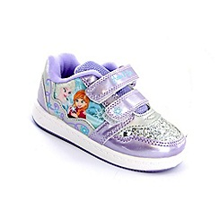 Disney Frozen - Girls' lilac trainers