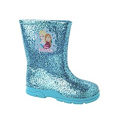 Disney Frozen - Girls' blue wellies