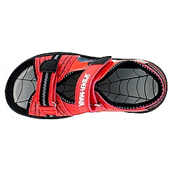 Spider-man - Boys' red sandals