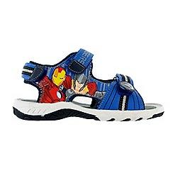 The Avengers - Boys' blue sandals