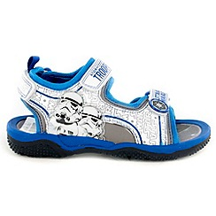 Star Wars - Boys' white sandals