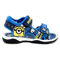 Despicable Me - Boys' blue sandals