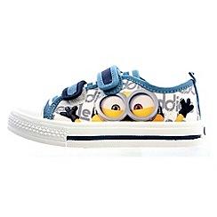 Despicable Me - Boys' blue canvas shoes