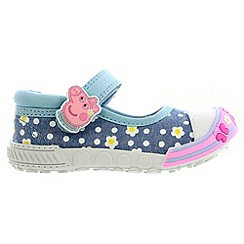 Peppa Pig - Girls' pink ballet trainers